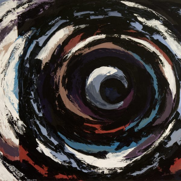 Even in the black cycle there are colors which will circulate into the white spectrum.