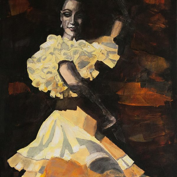 Night in Barcelona, in the rhythm of flamenco.