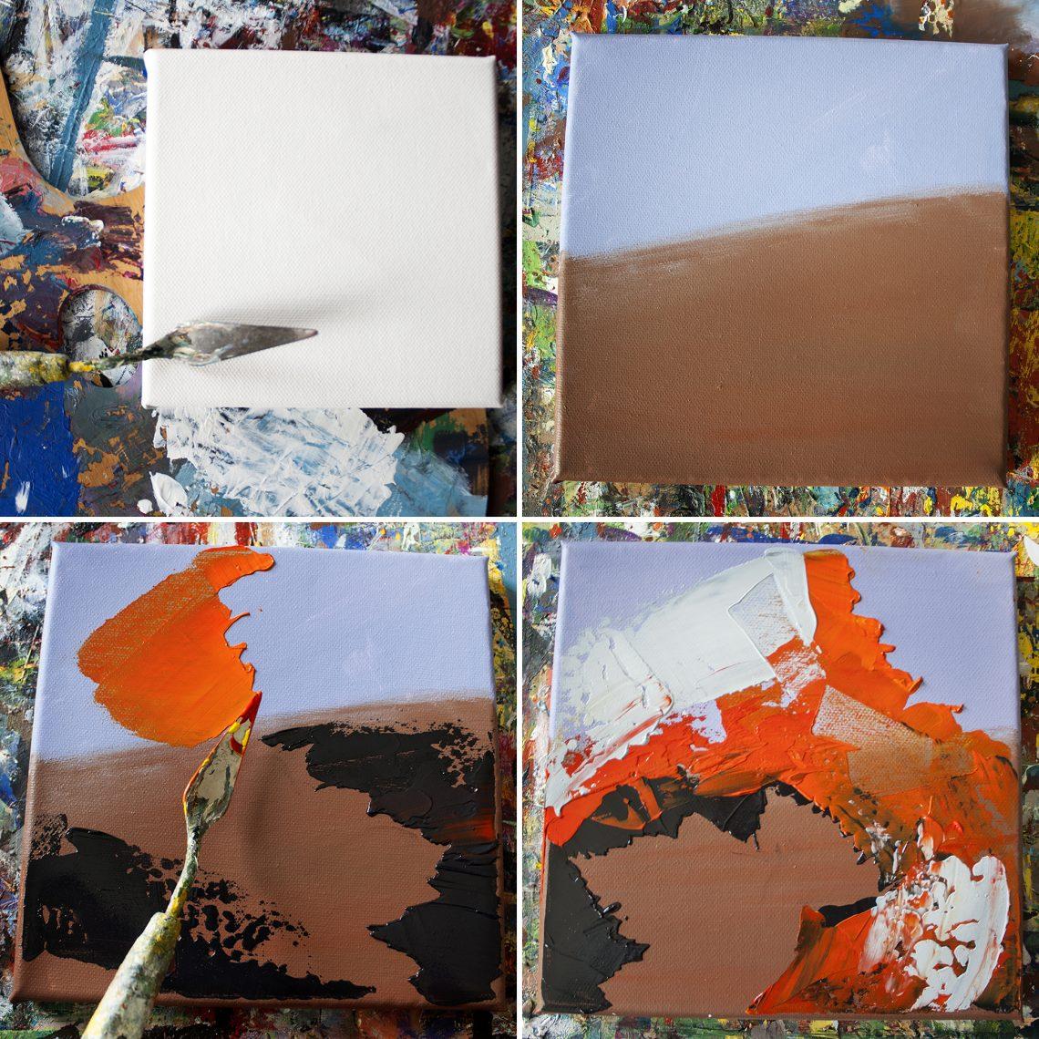 Autumun Colours on Canvas