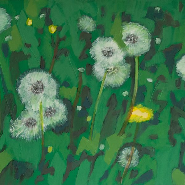 The pulse of Spring in the green is so playful!