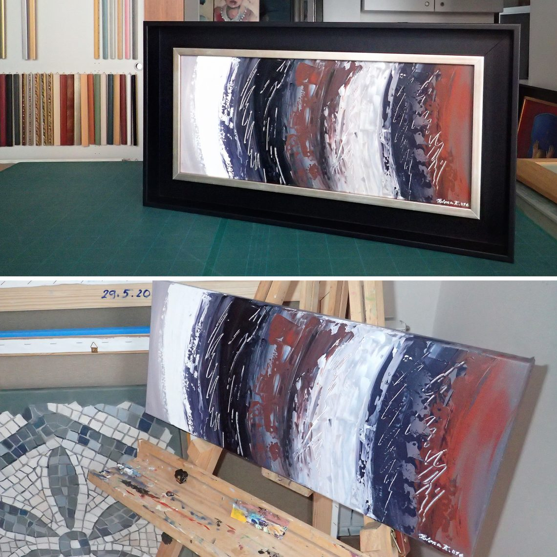 Framing paintings