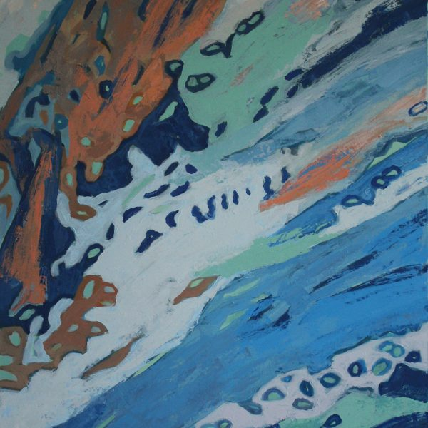 Unveiling/veiling of the depths - abstract language of an artist
